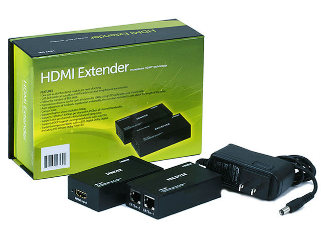 TS-6532 EXTENSOR HDMI MEDIANTE CABLE CAT5 O CAT6 Image
